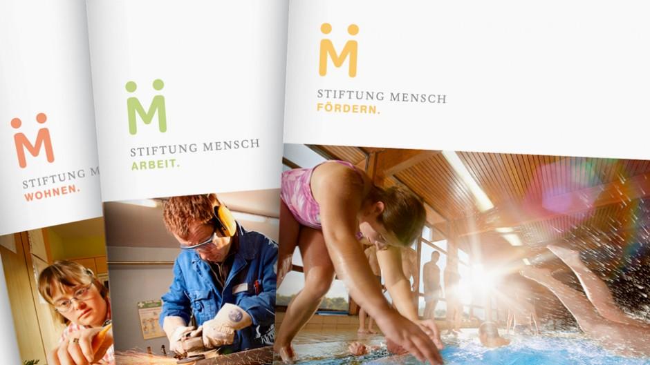 Corporate Design: Stiftung Mensch – Fotos: Christoph Siegert