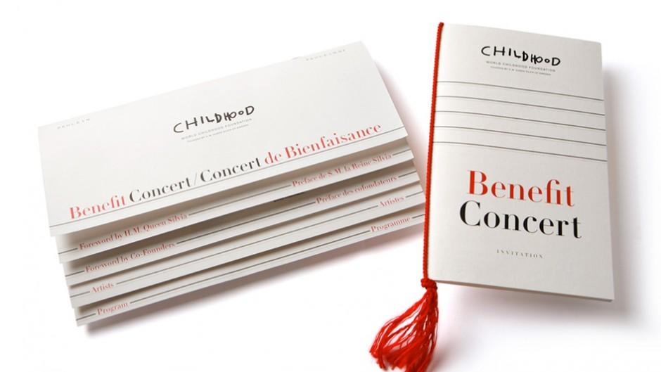 Eventgestaltung: Childhood / Benefit Concert in Paris