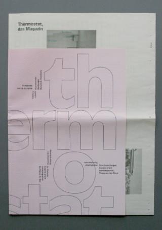 Zeitschrift »Thermostat«   Institut Français, Berlin 2010