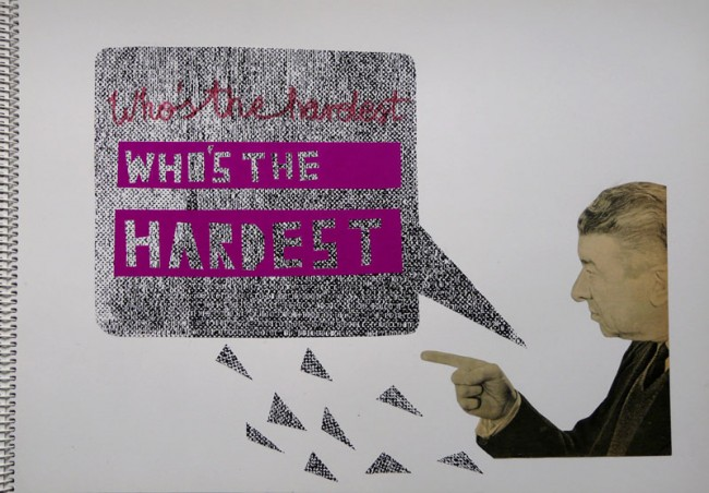 who´s the hardest, Collage