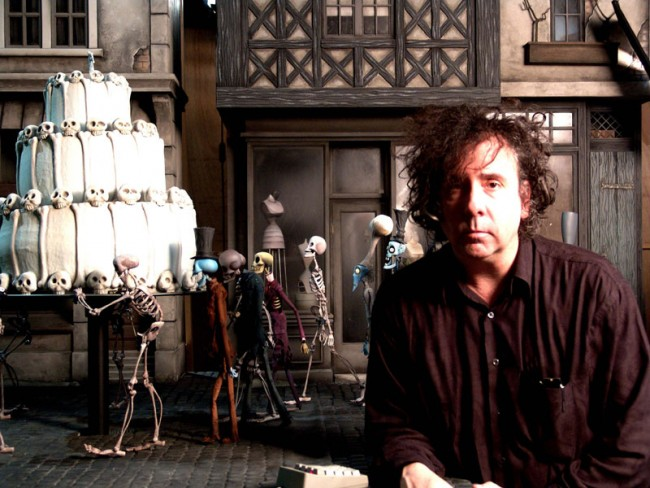 Tim Burton´s Corpse Bride, 2005 | Directed by Tim Burton and Mike Johnsons | Co-Direktor Tim Burton am Set | Photo credit: Derek Frey