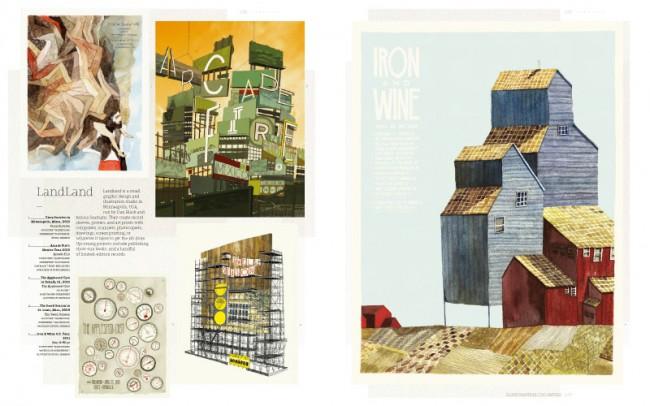 LandLand ist ein kleines Grafikdesignstudio in Minneapolis, das von Dan Black und Jessica Seamans betrieben wird