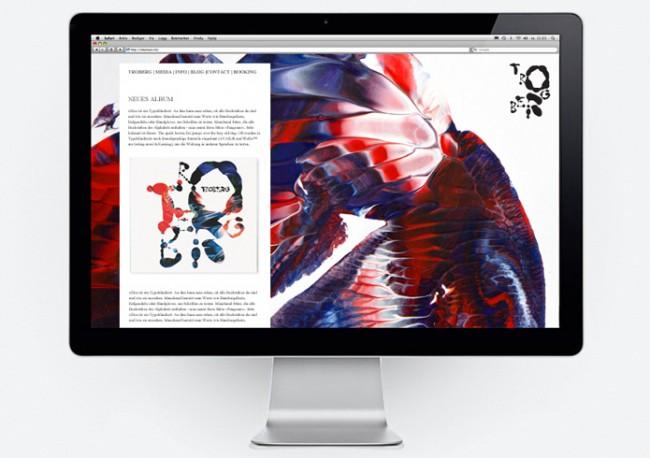 Die Website für Troberg