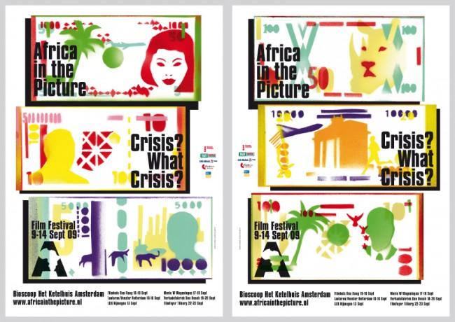 Kampagne für »Africa in the Picture«. Afrika und Diaspora Filmfestival, Amsterdam
