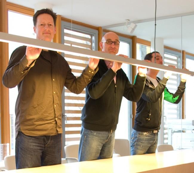 Die Geschäftsführung: Thilo von Debschitz, Laurenz Nielbock und Matthias Frey