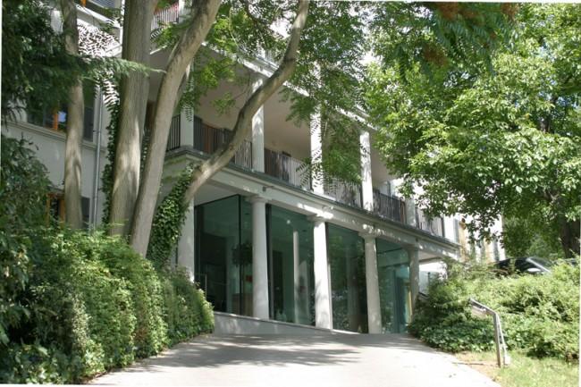 Die Agenturräume von Q befinden sich im »Haus Götz« in der Sonnenberger Straße