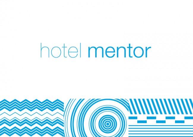 Corporate Identity für das HOTEL MENTOR