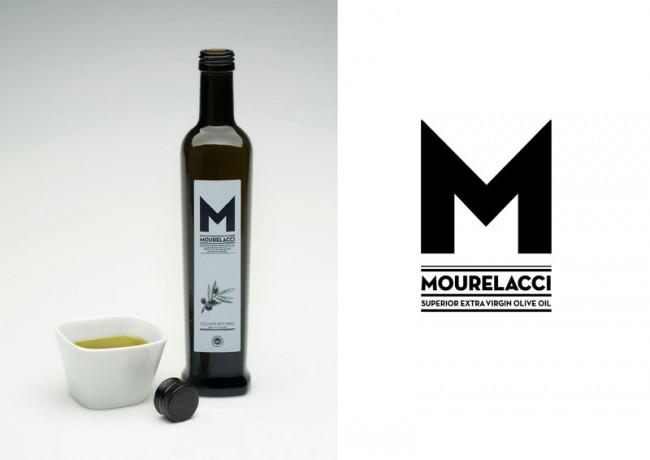 Erscheinungsbild und Verpackungsdesign für MOURELACCI Extra Virgin Olive Oil, 2011