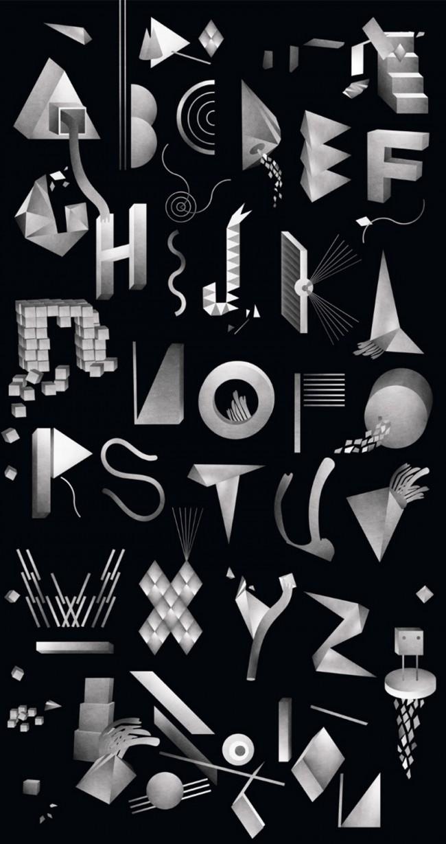 Typografie für das HIFI Magazine in Norwegen