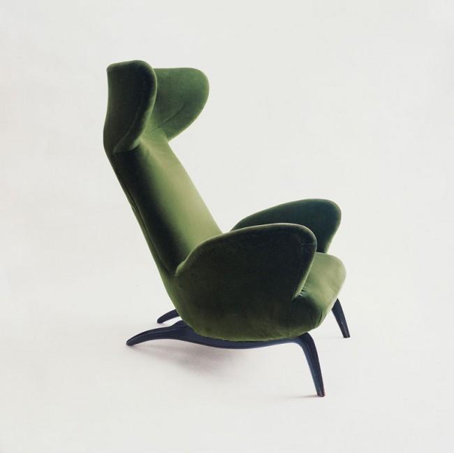 Carlo Mollino | Armchair for Casa Minola, 1946