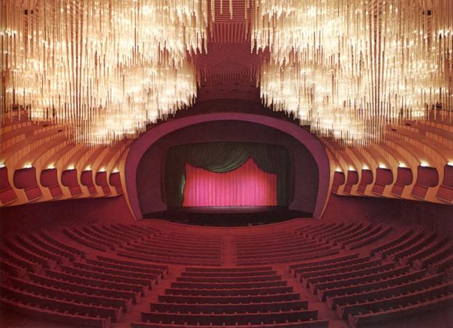 Carlo Mollino | Teatro Regio, 1965-73 | Photo: Cavalli