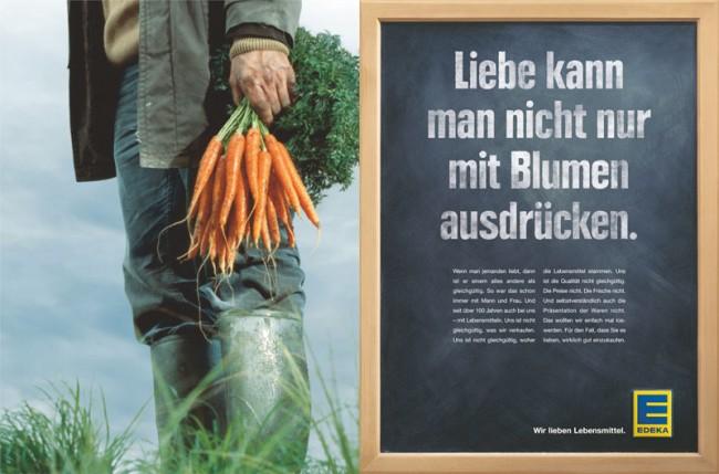 """Ralf Heuel ist stolz auf die Edeka-Kampagne, da Grabarz & Partner """"die Marke in Print komplett neu erfinden durfte"""""""