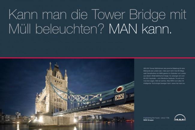 """""""Die MAN Kampagne ist eine der wenigen momentan im Markt, die einfach, klar und stark gestaltet sind"""", sagt Stephan Vogel"""