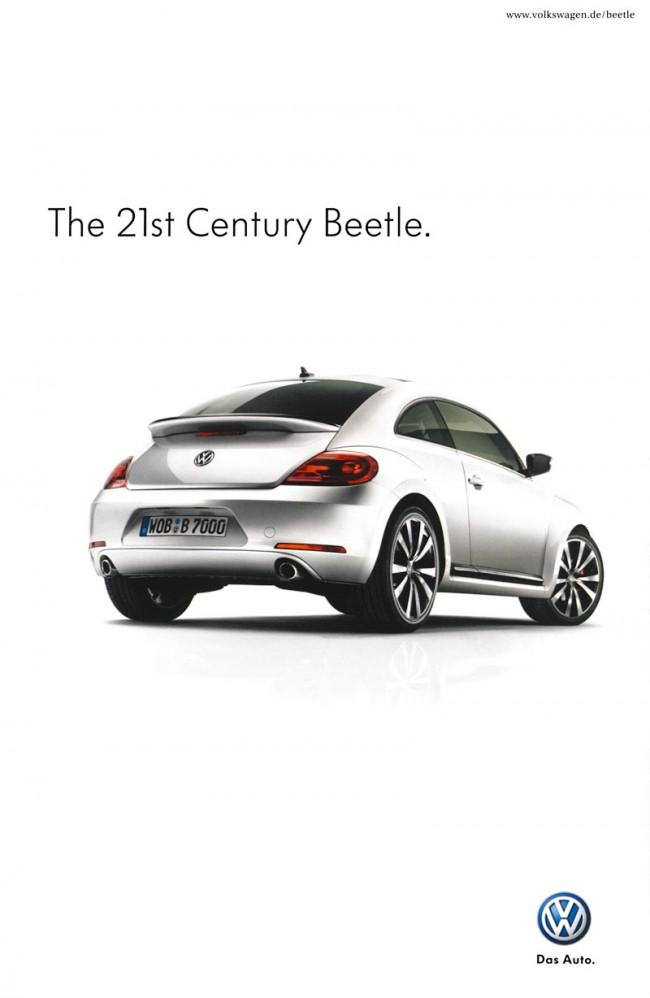 Mit der Kampagne für den 21st Century Beetle knüpft VW an die alten Klassiker an, meint Thomas Koch