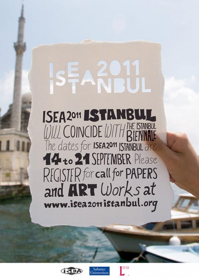 Onur Yazicigil gestaltete zusammen mit Cem Deniz Önduygu das Keyvisual für das Kunstsymposium ISEA2011
