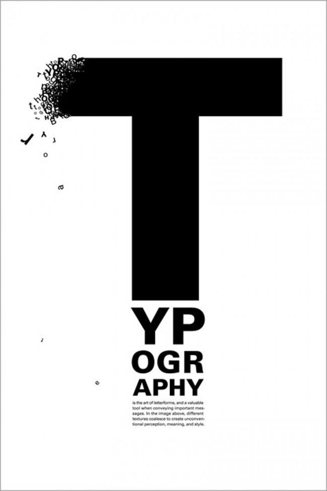 Preisgekröntes Poster der Chicagoer Society of Typographic Arts, gestaltet von Onur Yazicigil