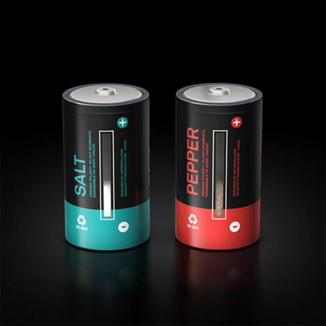 Mehmet Gozetliks Designkollektiv Antrepo entwickelte Salz- und Pfefferstreuer für die Serie »I'm not product«
