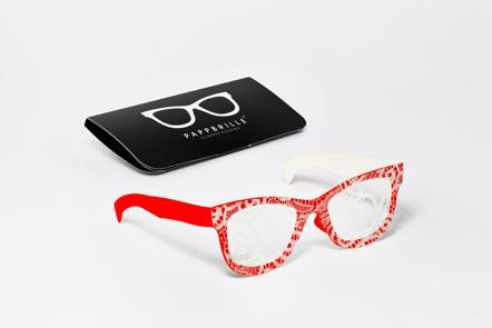 Bild Pappbrille