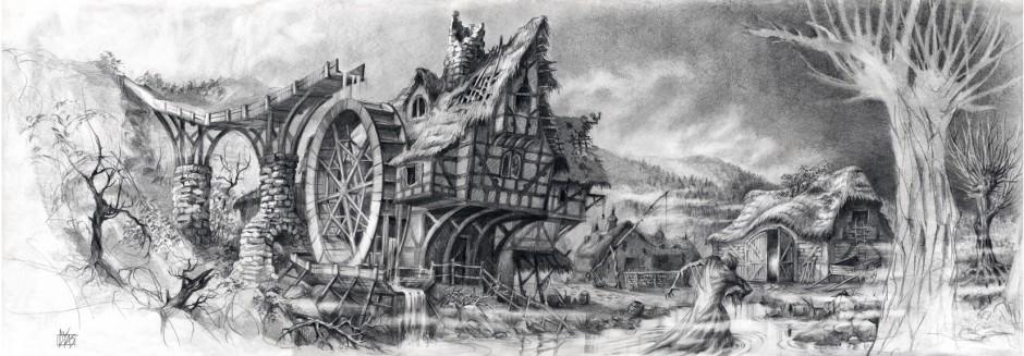 Guy Hendrix Dyas: Concept für Borthers Grimm