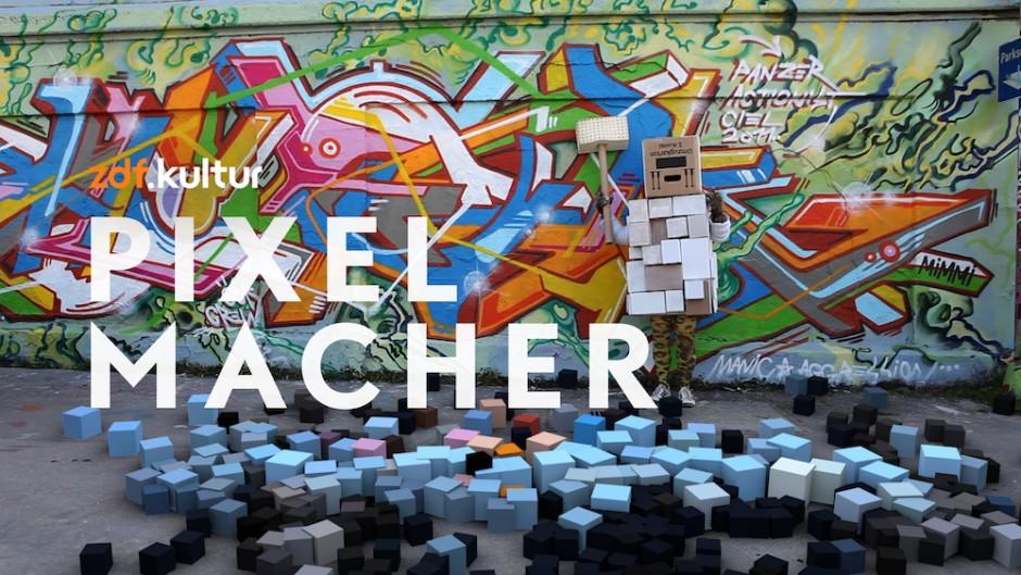 Beste Vorspanngestaltung für nicht-fiktionales Programm: ZDFkultur - Der Pixelmacher, Luxlotusliner