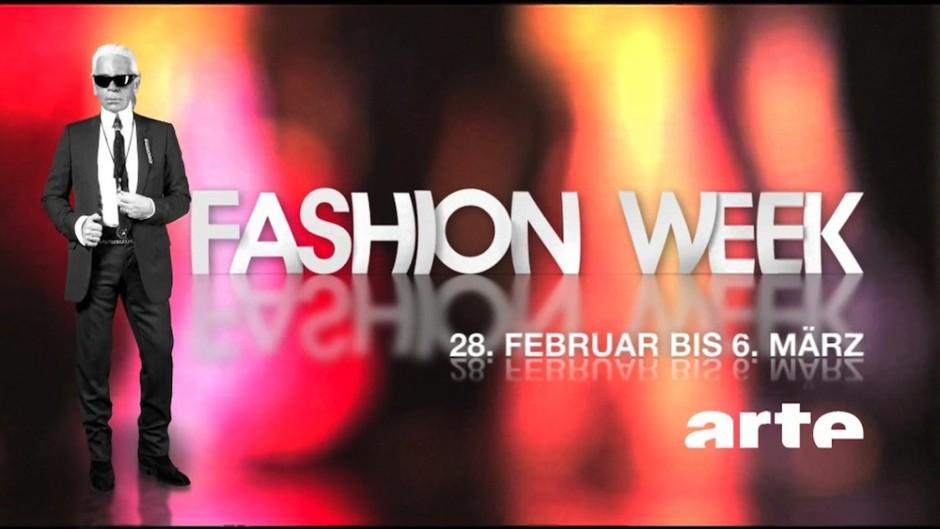 Beste typografische Gestaltung: ARTE Fashion Week