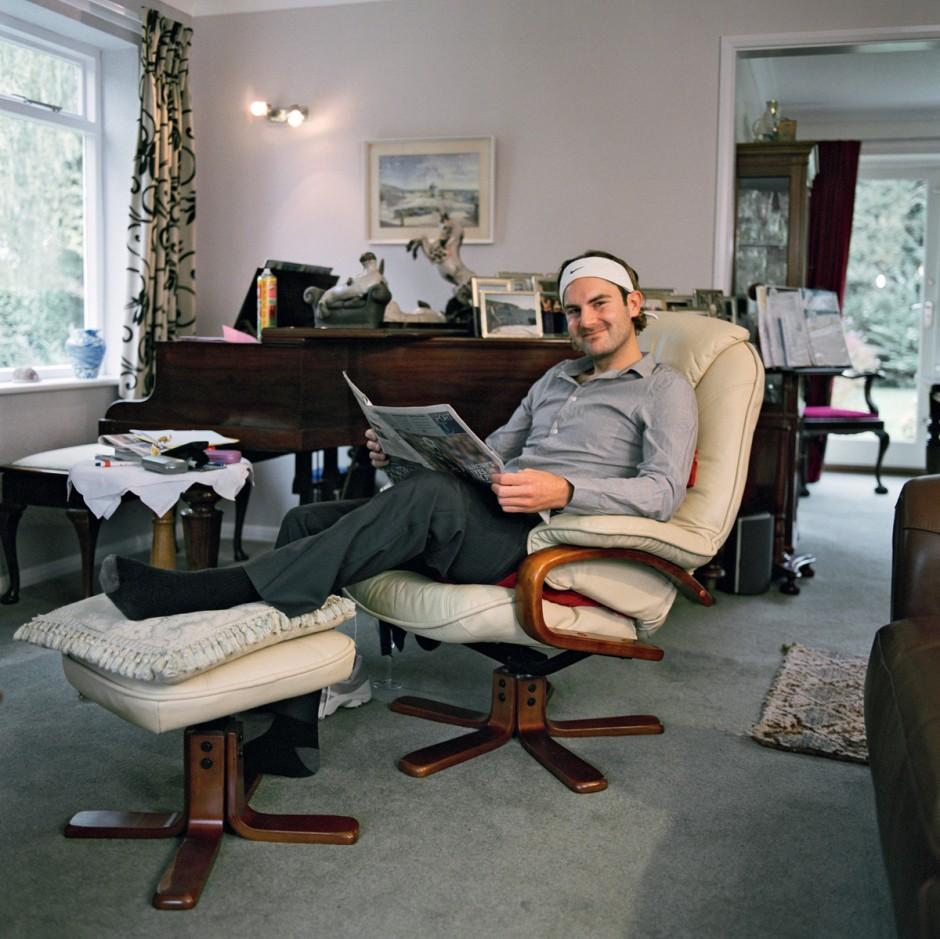 Roger Federer, © 2011 Niklaus Spoerri, Who is Who? www.vfmk.de