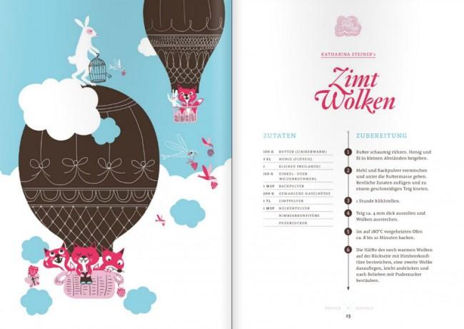 Illustrierte Rezeptsammlung: »Heiligs Guetzli«, Picaverlag Zürich