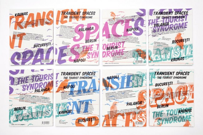Transient Spaces — The Tourist Syndrom, Visual Identity and Book Design for uqbar 2010