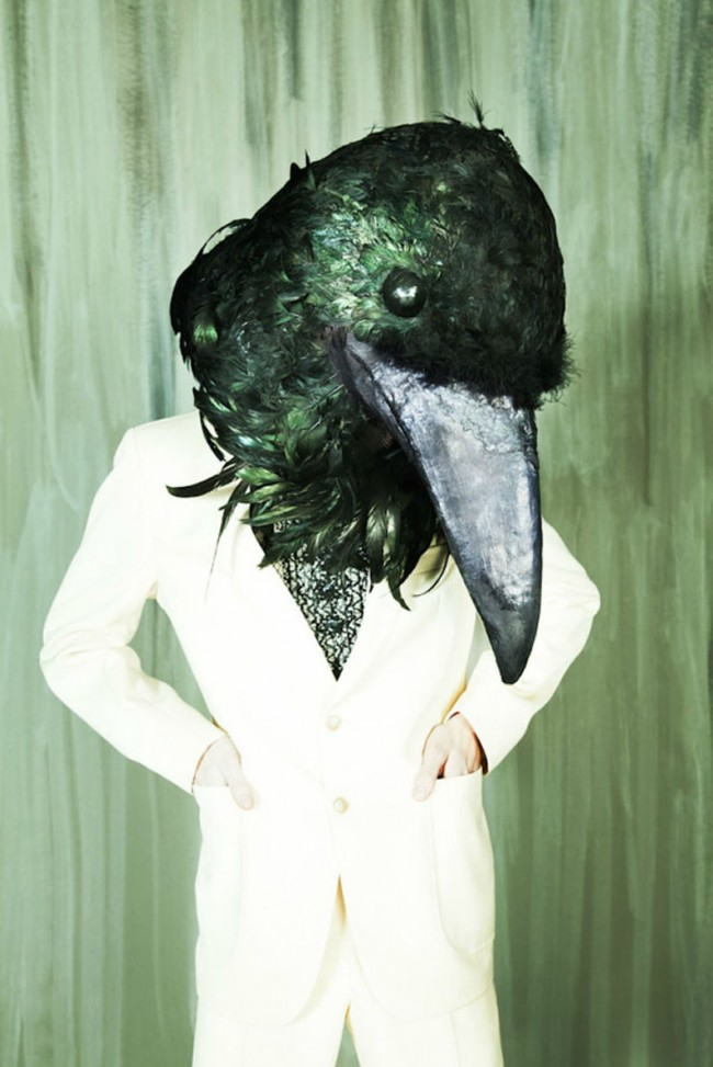 Sight of transgression: raven