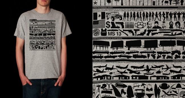SO L.A. | Design für ein T-Shirt
