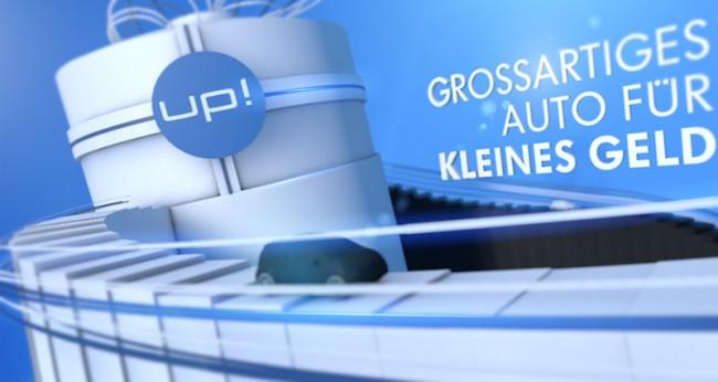 Volkswagen up | Styleframes für einen Messefilm der »Volkswagen AG - Volkswagen up!«
