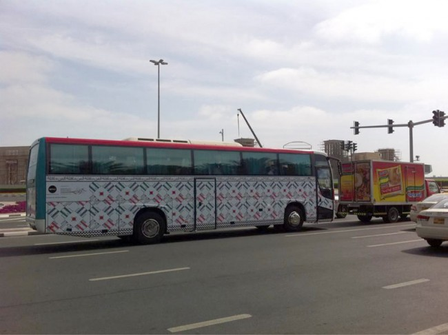 Art Bus Project – Art Dubai 2011