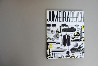 Jumeria Beach Magazine | Cover, Layout und Branding