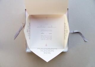 Gestaltung einer Hochzeits-Einladungskarte