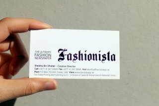 fashionista | Dar Dubai Printing and Publishing