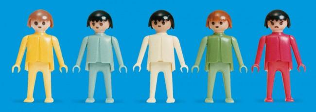 Premières figurines, 1974 © PLAYMOBIL