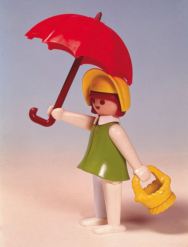 Figurine féminine, 1976 © PLAYMOBIL