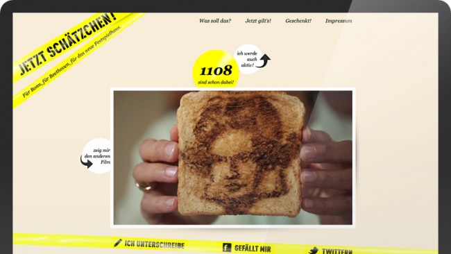 Festspielhausfreunde | Jetzt Schätzchen! | Kampagne