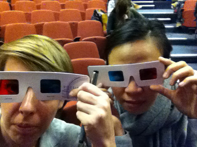 Ready for the 3D lecture by Dale Herigstad