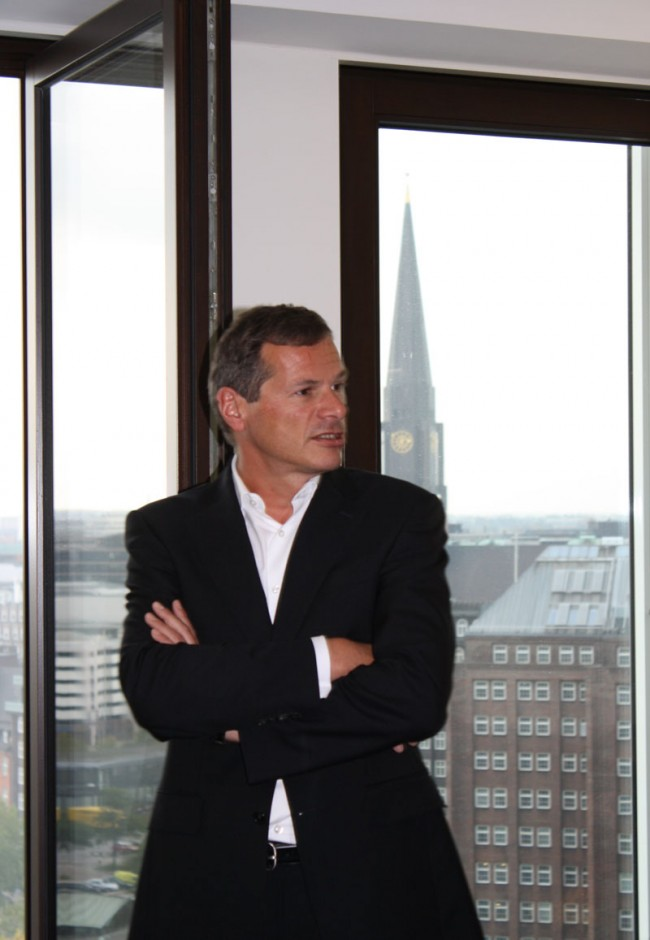 Georg Mascolo in seinem neuen Büro