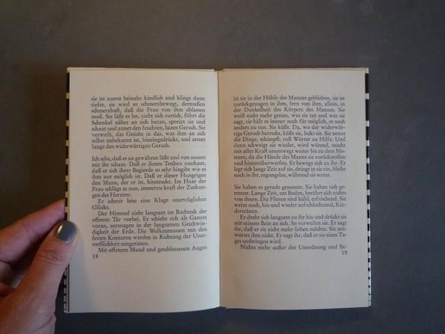 Marguerite Duras | »Der Mann im Flur« | Innenansicht
