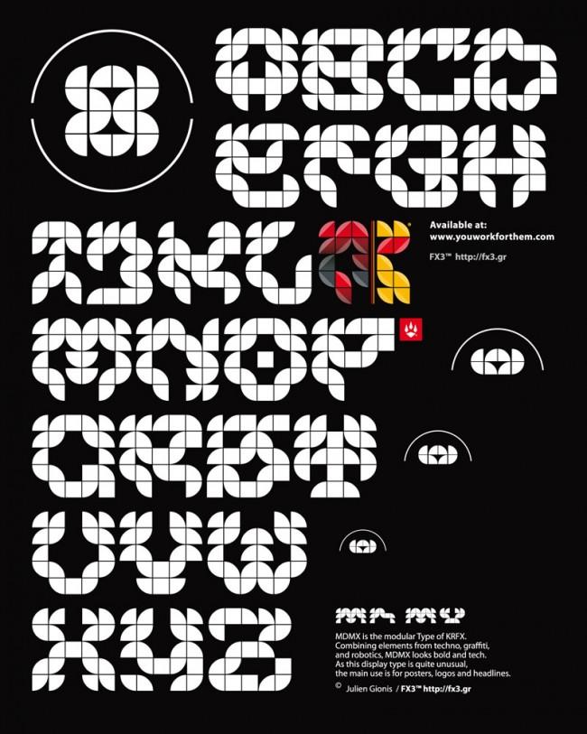 MDMX Type von Julien Gionis