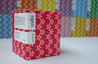 Preisgekröntes Packaging für einen griechischen Vertrieb von Duftkerzen – ebenfalls von the design shop