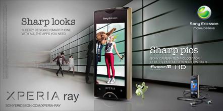 Bild Sony Ericsson Xperia Ray