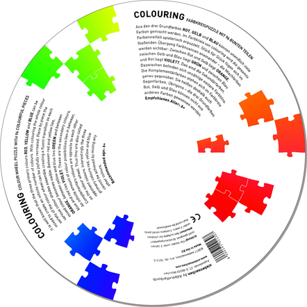Bild Farbkreispuzzle