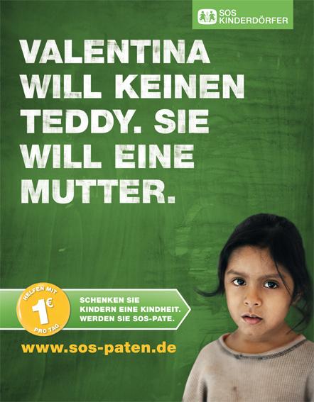 Bild SOS-Patenkampagne