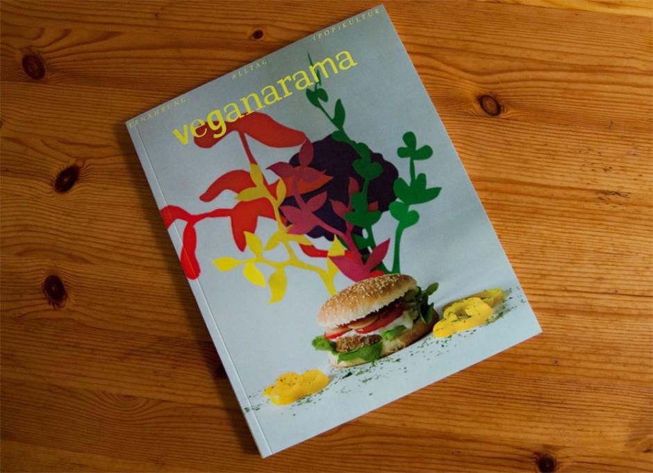 Veganarama: Ein Magazin für Veganer von Dora Celentano, Folkwang Universität, Betreuer: Professor Peter Wippermann