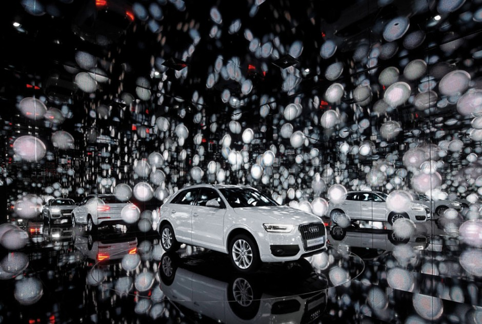Adam 2011: Kategorie Markenwelten | Audi Cube3 (Gold)