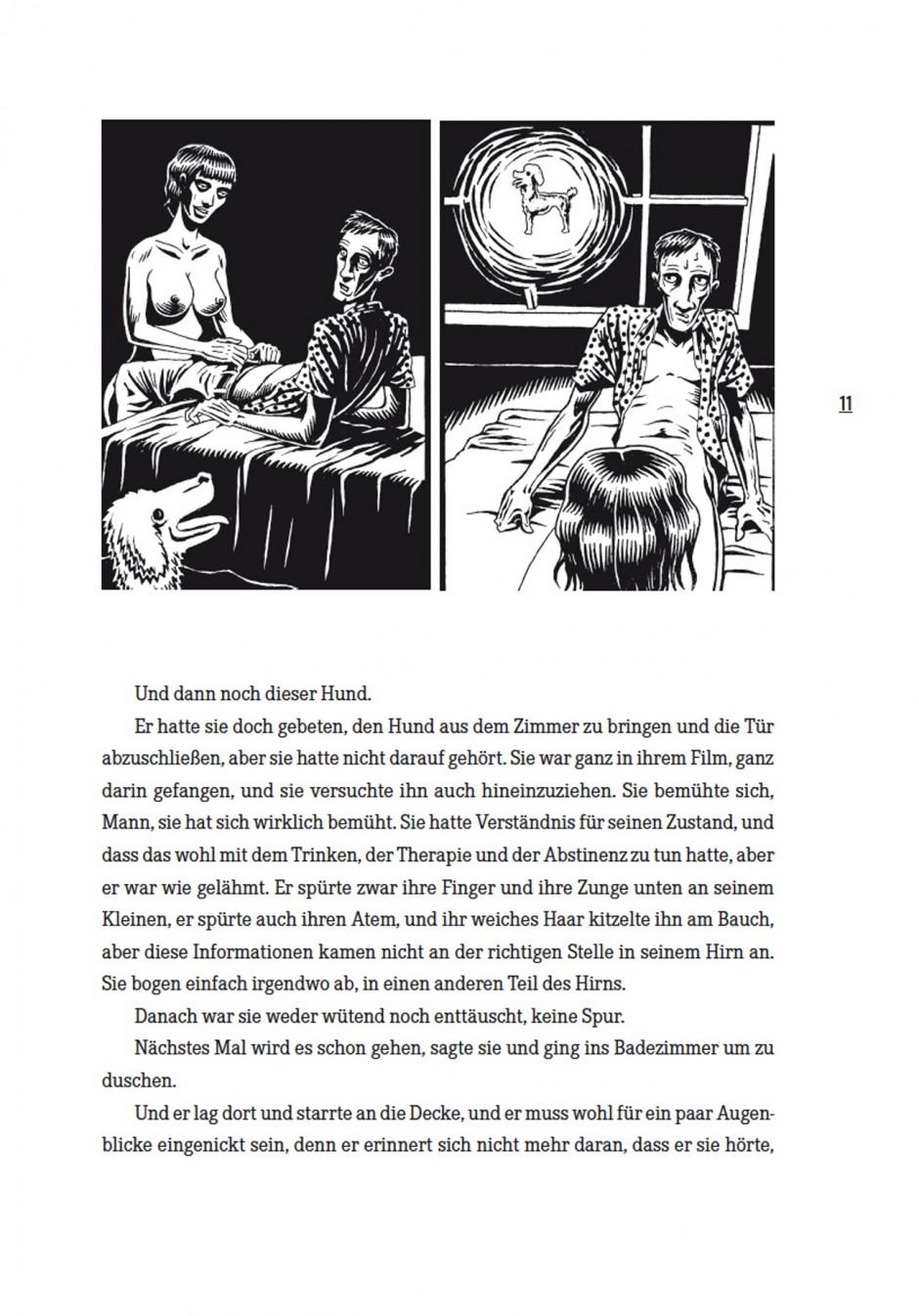 Illustration von Igor Hofbauer für die »Tattoogeschichten« von Edo Popović