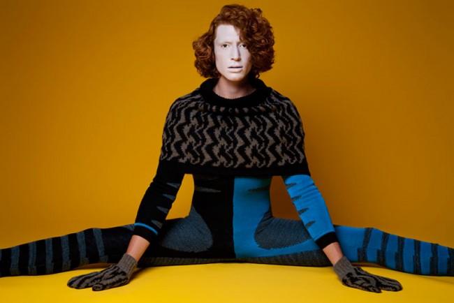 »Knitted Knights« von Roland G. Bartholot für Œ-Magazin